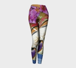Swirl 3D Leggings  101-4 preview