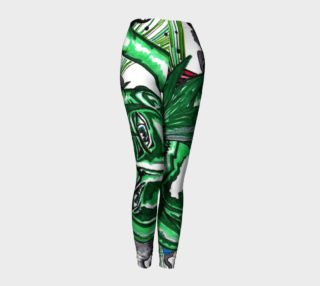 Green Anime Leggings preview
