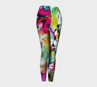 Pink Butterfly Leggings preview