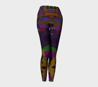 Confetti Geometric Pattern All Over Print leggings  preview