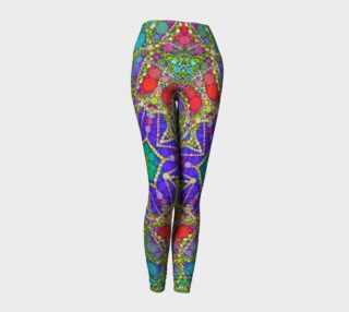 All Jeweled Up Abstract All Over Print Women's Leggings  preview