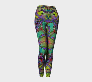 Covered In Abstract Women's Leggings  preview