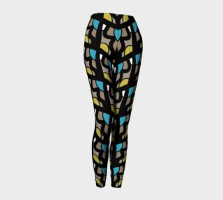 Stylish Geometric Pattern Women's Leggings  preview