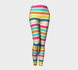 Summer Stripes Leggings preview