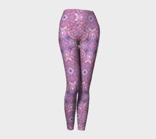 Lavender Petals Leggings preview