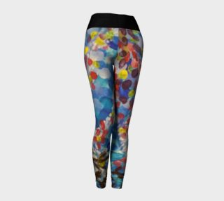 Katie's Forest Simple Waist Leggings preview