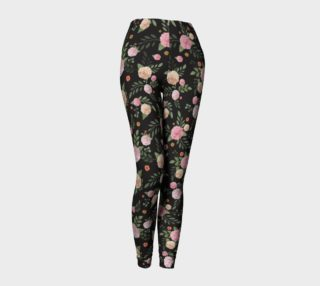 Black Floral Leggings preview