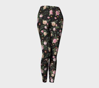 Aperçu de Black Floral Leggings