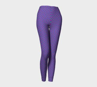Purple Diamonds Leggings preview