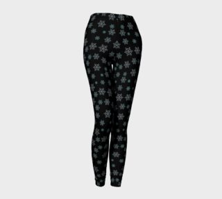 Aperçu de Snowflakes at Night Leggings