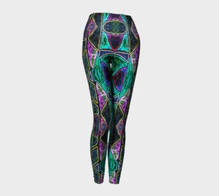 Tourmaline Stained Glass Leggings preview
