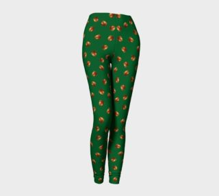 Acorns Pattern-Camarone Leggings preview