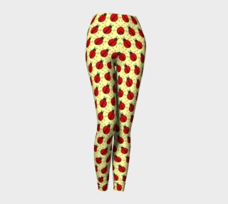 Aperçu de Ladybugs Pattern-Cream Leggings