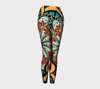 Flower Power Leggings preview