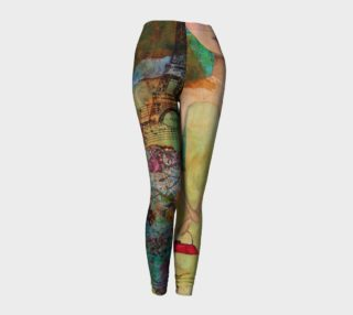 Aperçu de Oh Paris! Art Wear Leggings by Danita Lyn