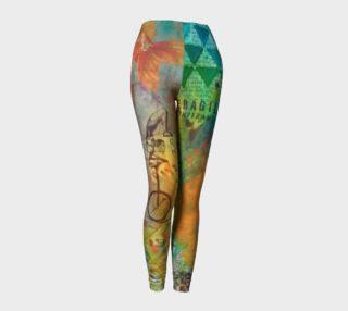 Life is a Circus! - Art Wear Leggings by Danita Lyn preview