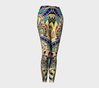 Leggings Drawing Floral Zentangle G14 preview