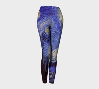 Vincent Van Gogh Starry Night Leggins preview