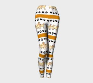 Golden Retriever leggings preview
