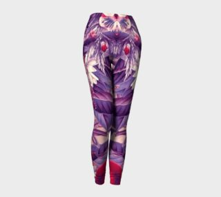 fruits and flowers leggings preview