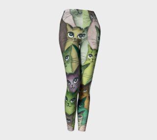 Umpqua Whimsical Cat Leggings preview