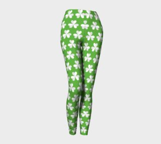 4 leaf clover leggings preview