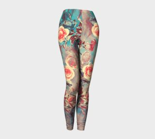 leggings light flowers preview
