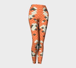 Koi Mermaid Leggings preview