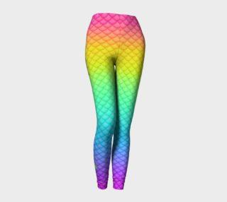 Neon Mermaid Leggings preview