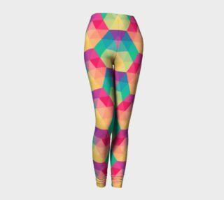 Aperçu de Harlequin Colorful Triangles