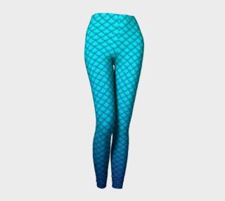 Blue Mermaid Leggings preview