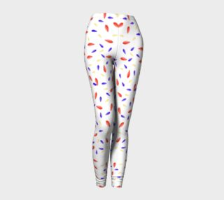 Multi-Colored Leaes Pattern Leggings preview