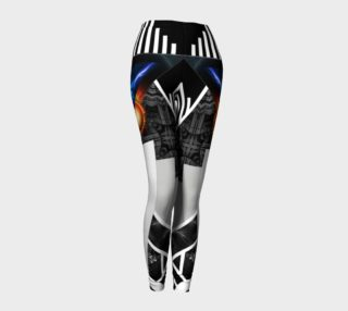 Aperçu de Wings Of Lightning Deco Mech Flare Leggings