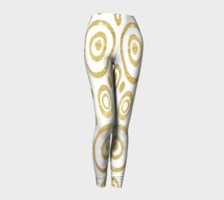 Golden Circles Leggings preview
