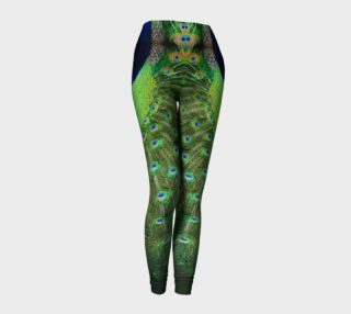 Peacock Wheel Leggings preview