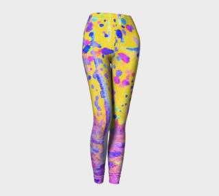Aperçu de Yellow Magic Trees Leggings