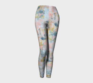 Longed for leggings MEC Art printed leggings adult woman matching baby leggings preview