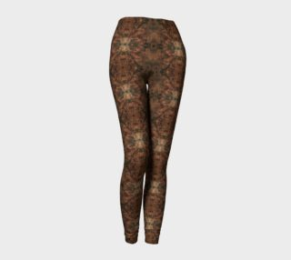 Copper Abstract Leggings preview