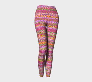 Aperçu de  Pink Tapestry Leggings