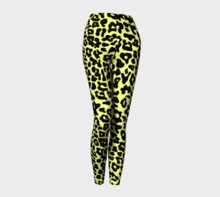 Aperçu de Nani Leopard Leggings Yellow