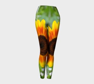 Sumertime Sunflower Leggings preview