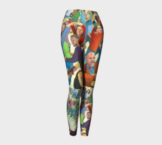 Conga Line leggings preview