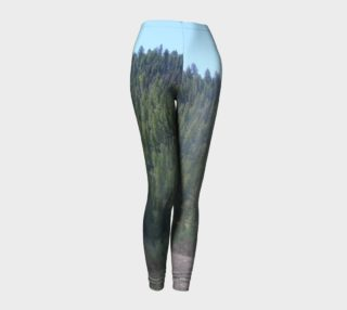 Forrest Through the Trees nature photography leggings preview