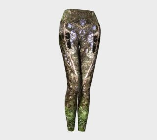 Old Military Base Water Tower Pacific coast Washington Ilwaco photography leggings preview