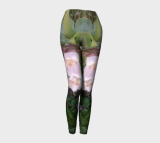 Pink Wildflowers on the Boise River nature photography leggings preview