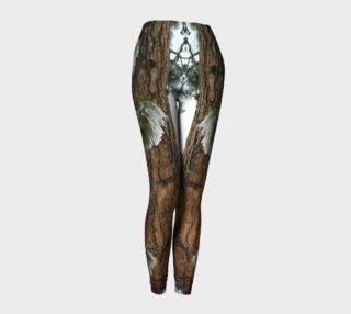 Winter Tree nature photography leggings preview