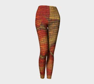 Warm Swirl leggings preview