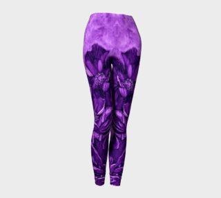 Purple Poppy Leggings preview