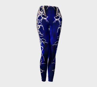 Royal Blue Lighting Leggings preview