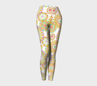Sorbet Fireworks Ankle Leggings smaller print preview